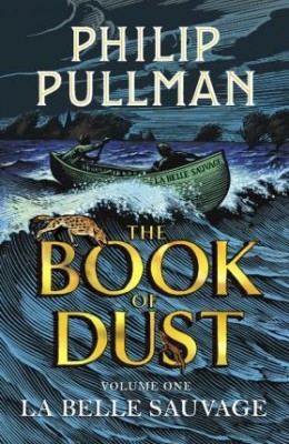 The Book of Dust by Philip Pullman, an example of a beautifully designed book that looks and feels great in print