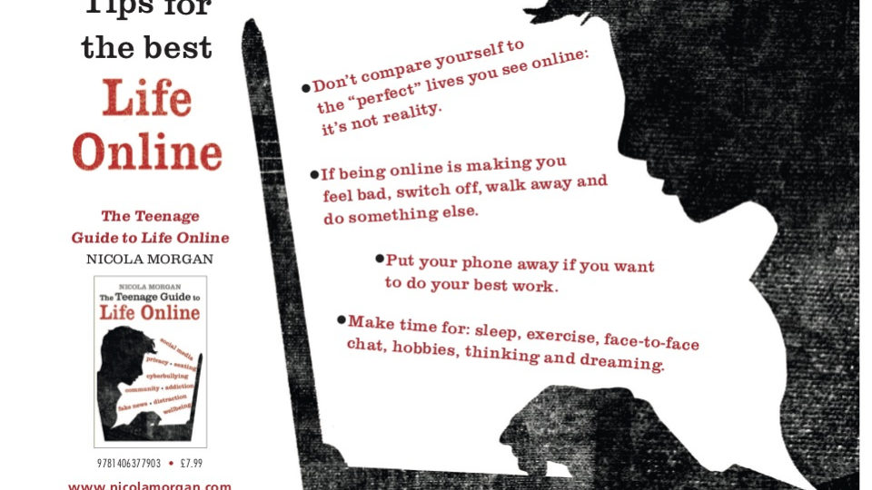 Six Steps to Online Well-being #MentalHealthAwareness