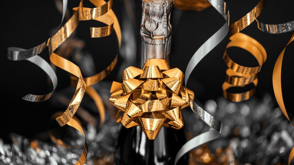 A fizzy week: award, wedding, birthday